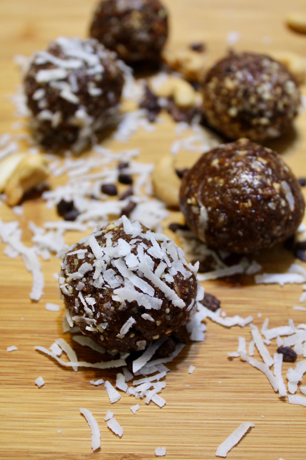 Chocolate Coconut Power Bars Picture 2