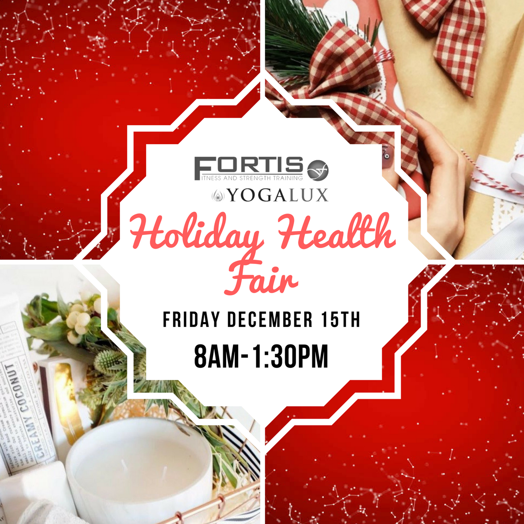 Holiday Health Fair_Friday December 15th 8am - 1:30pm