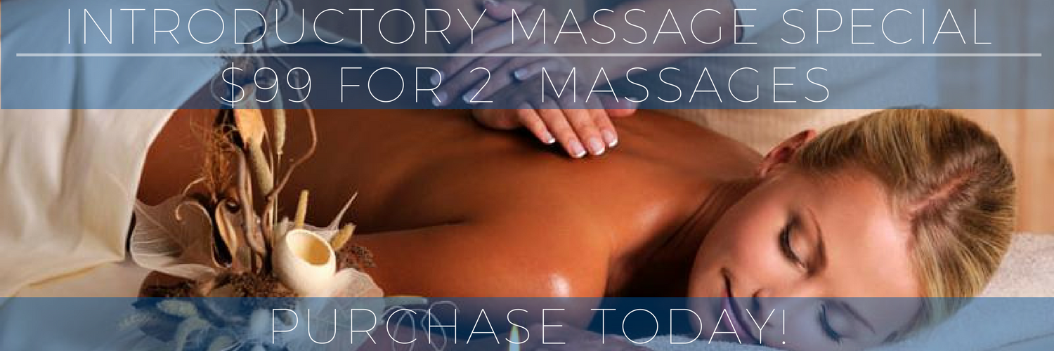 Massage Introductory Offer - 2 Massages for $99