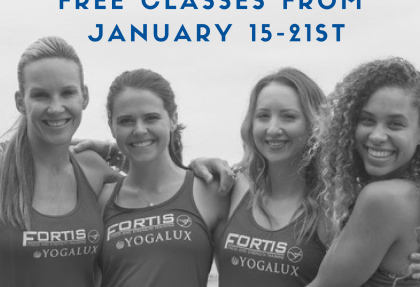 Open House Week - January 15th - 21st. Free Classes ALL WEEK!