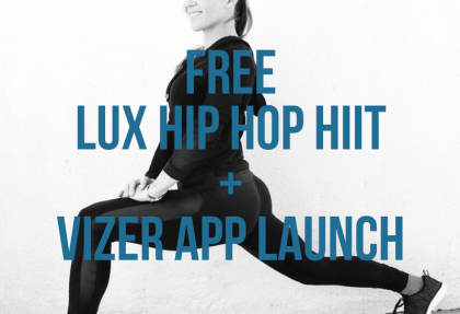 Hip hop hiit vizer launch